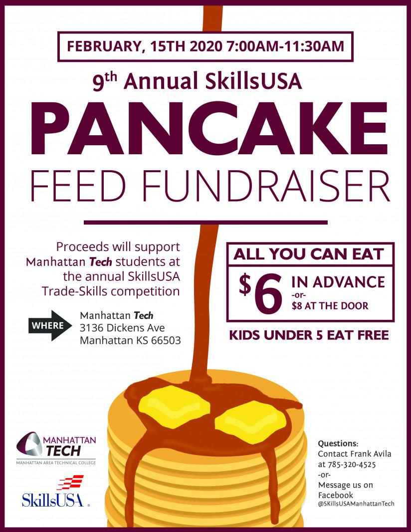 SkillsUSA 9th Annual Pancake Feed